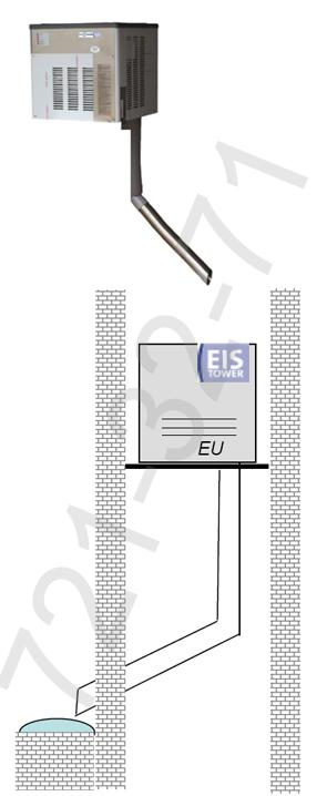 Ледогенератор Eis-Tower Naked EU 22
