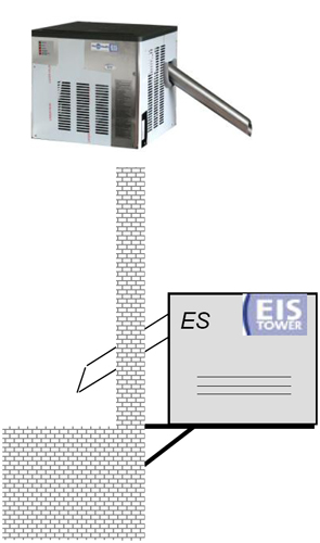 Ледогенератор Eis-Tower Naked ES 33